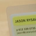 Unique Business Card Design for a Consultant