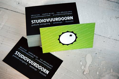 Studiovuurdoorn Biz Card