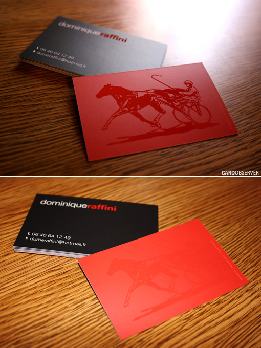 Horse business card cardobserver horse business card colourmoves