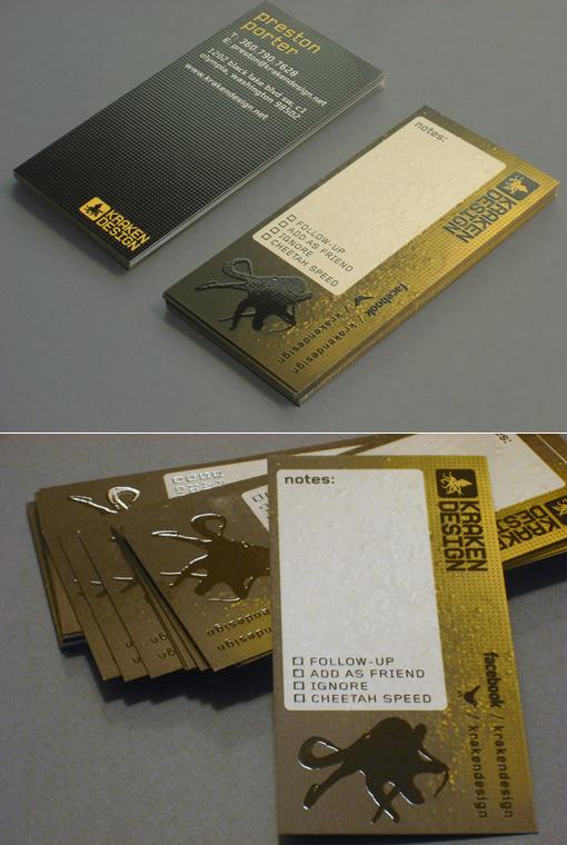 Kraken Design Card