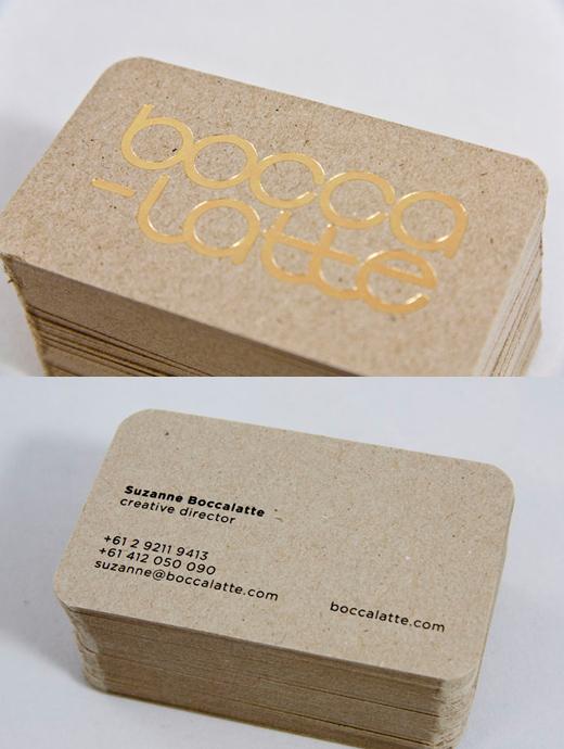 Box Board Business Card