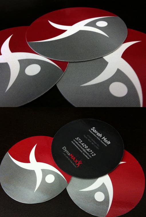Circle Business Cards CardObserver