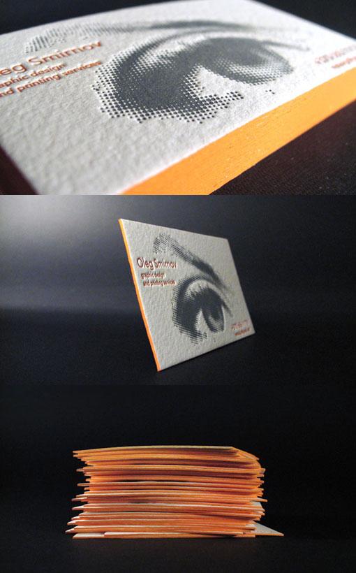 Orange Edge Letterpress