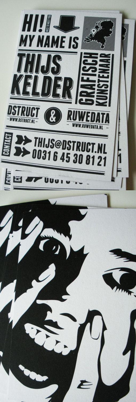 Black & White Cards