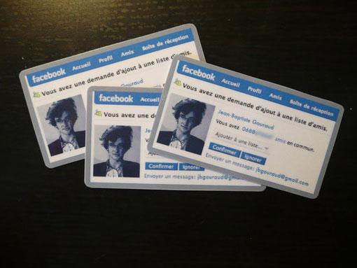 Facebook Business Cards