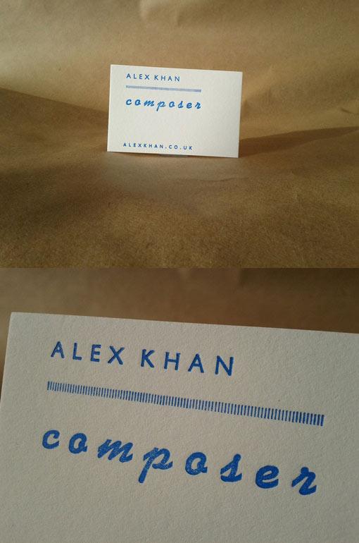 Hand Printed Letterpress