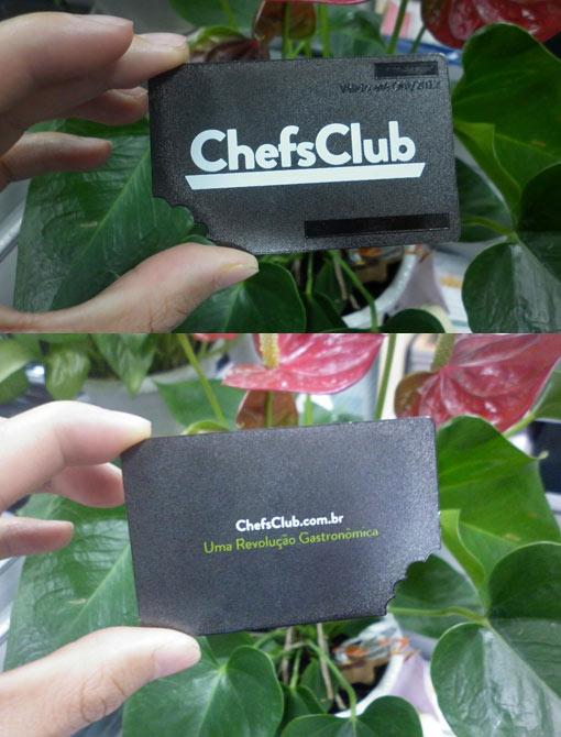 Black Brush Stainless Steel Card