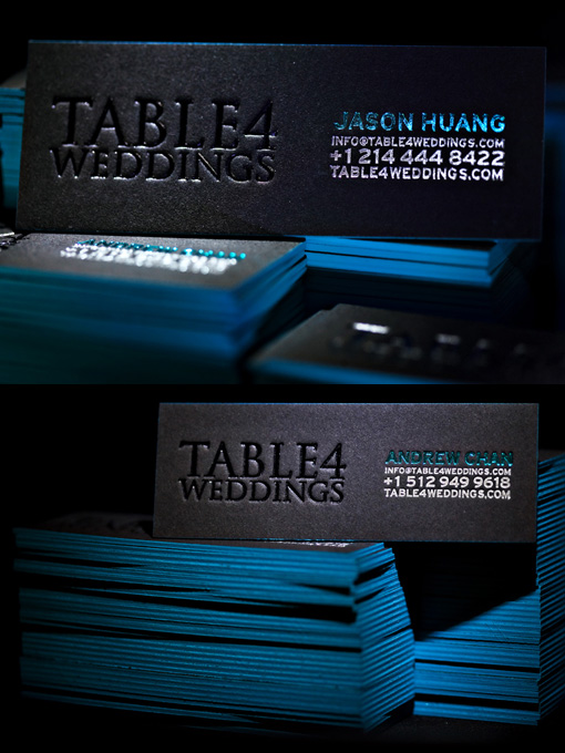 Black & Blue Letterpress