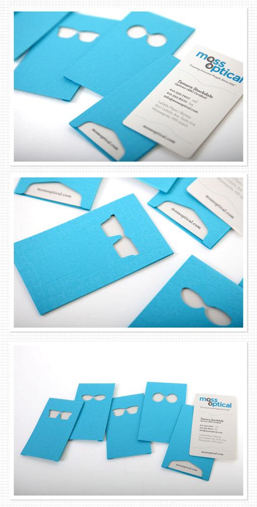 Moss Optical Business Card
