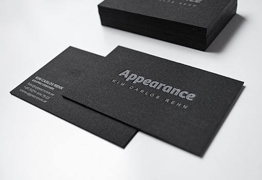 Black Letterpress Design