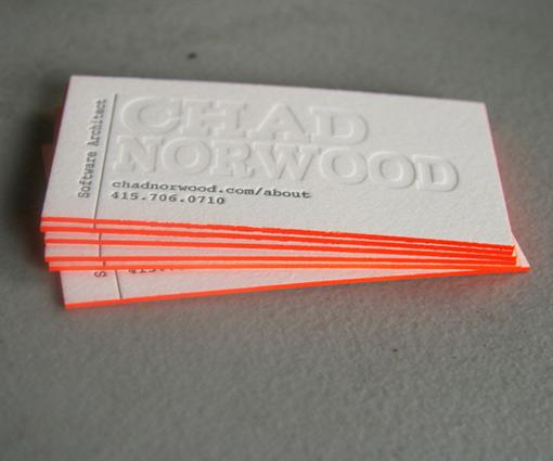 Cool Letterpress Design