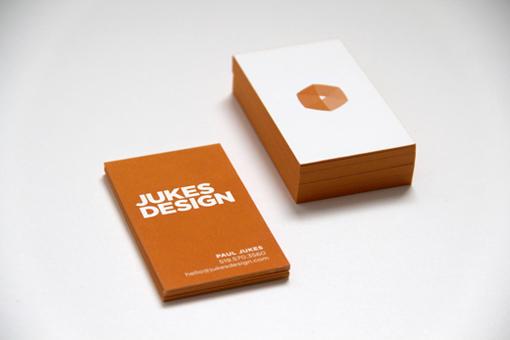 JUKES DESIGN Business Cards