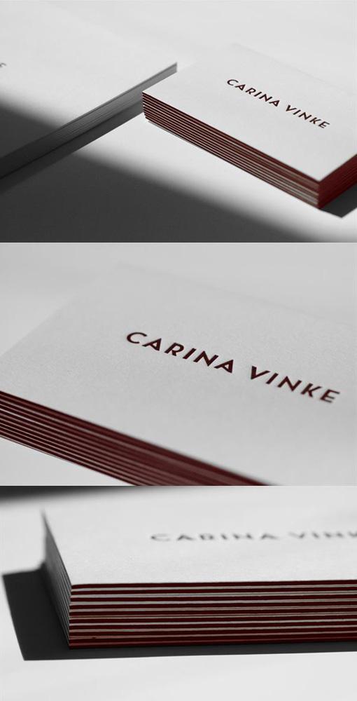 Minimalist Black White Business Card Template Andre - Minimal Business Card Template By Andre