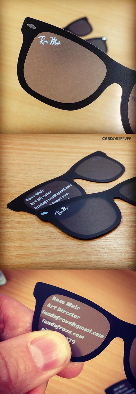 Sunglasses Card Design