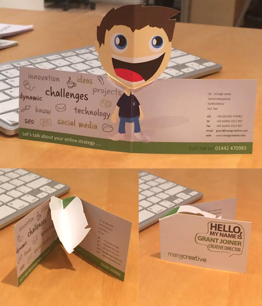 Quirky 3d pop up business card cardobserver quirky 3d pop up business card colourmoves